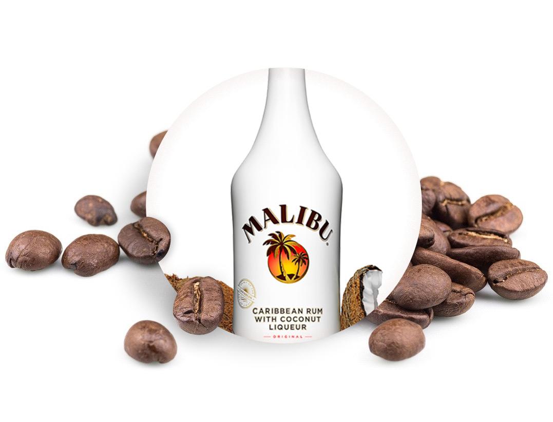 MALIBU zrnková káva, 50g