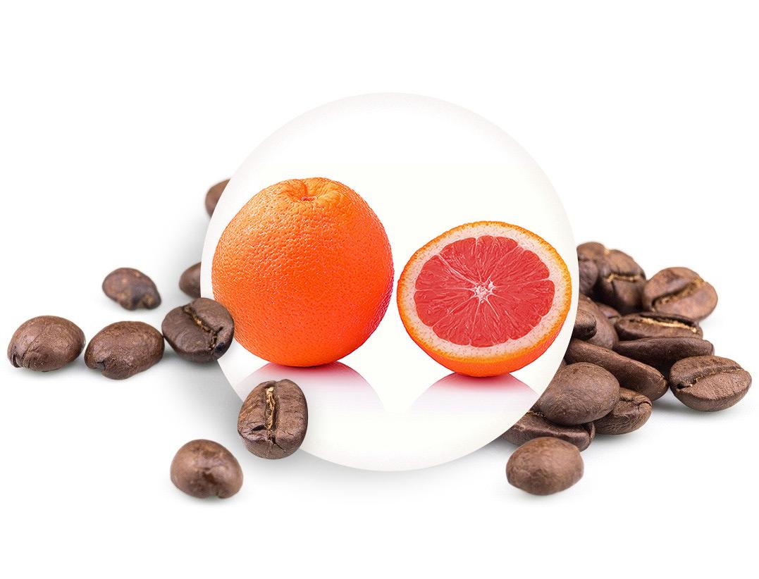 Levně SICILSKÝ POMERANČ zrnková káva, 250g